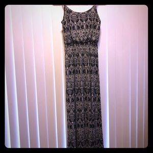 Patterned maxi dress
